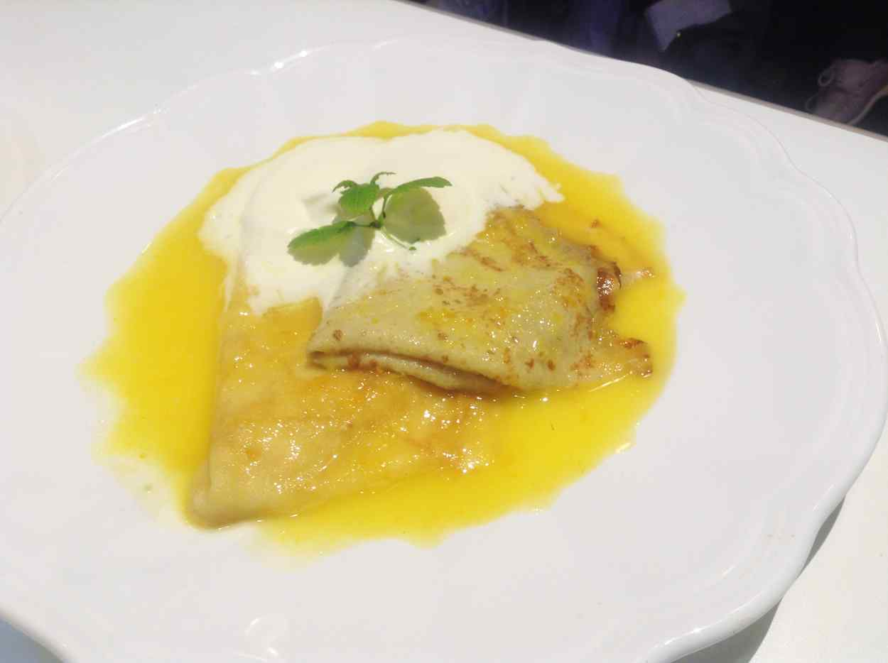 Crêpes with Orange Butter