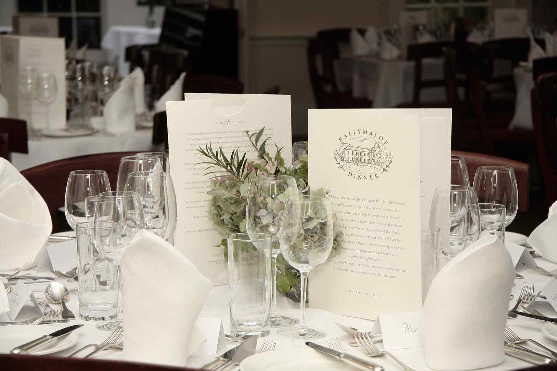 Irish Restaurant Association award – Best Hotel Restaurant