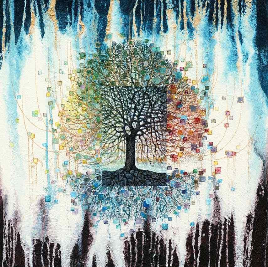 "Art Exhibition: ""The 4-Seasons' Tree"" by Peter Binder from 24th November"