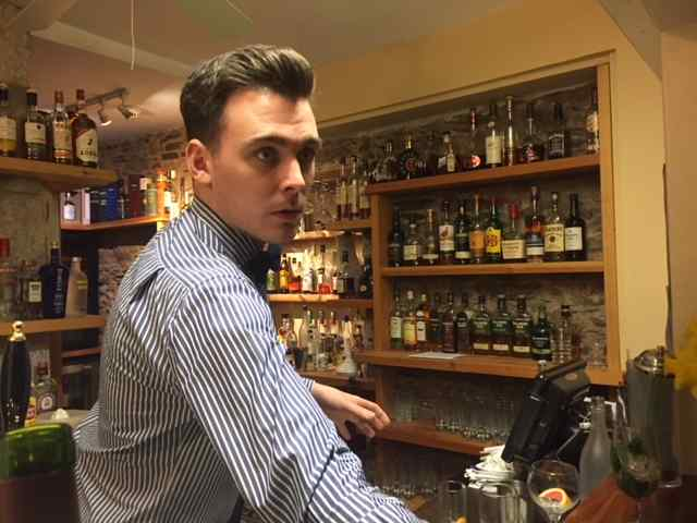 Welcome to our new bar manager