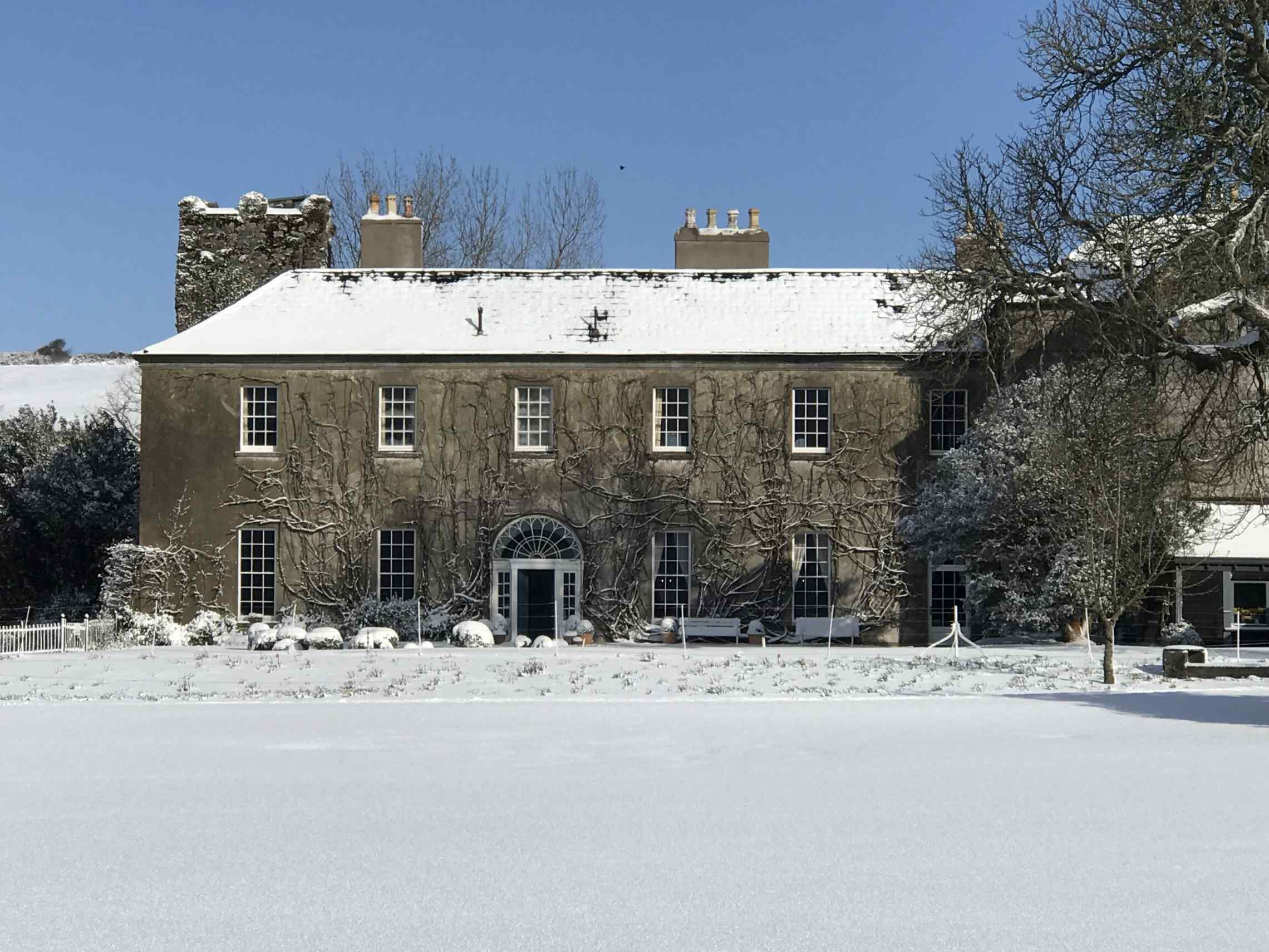 Ballymaloe in the Snow