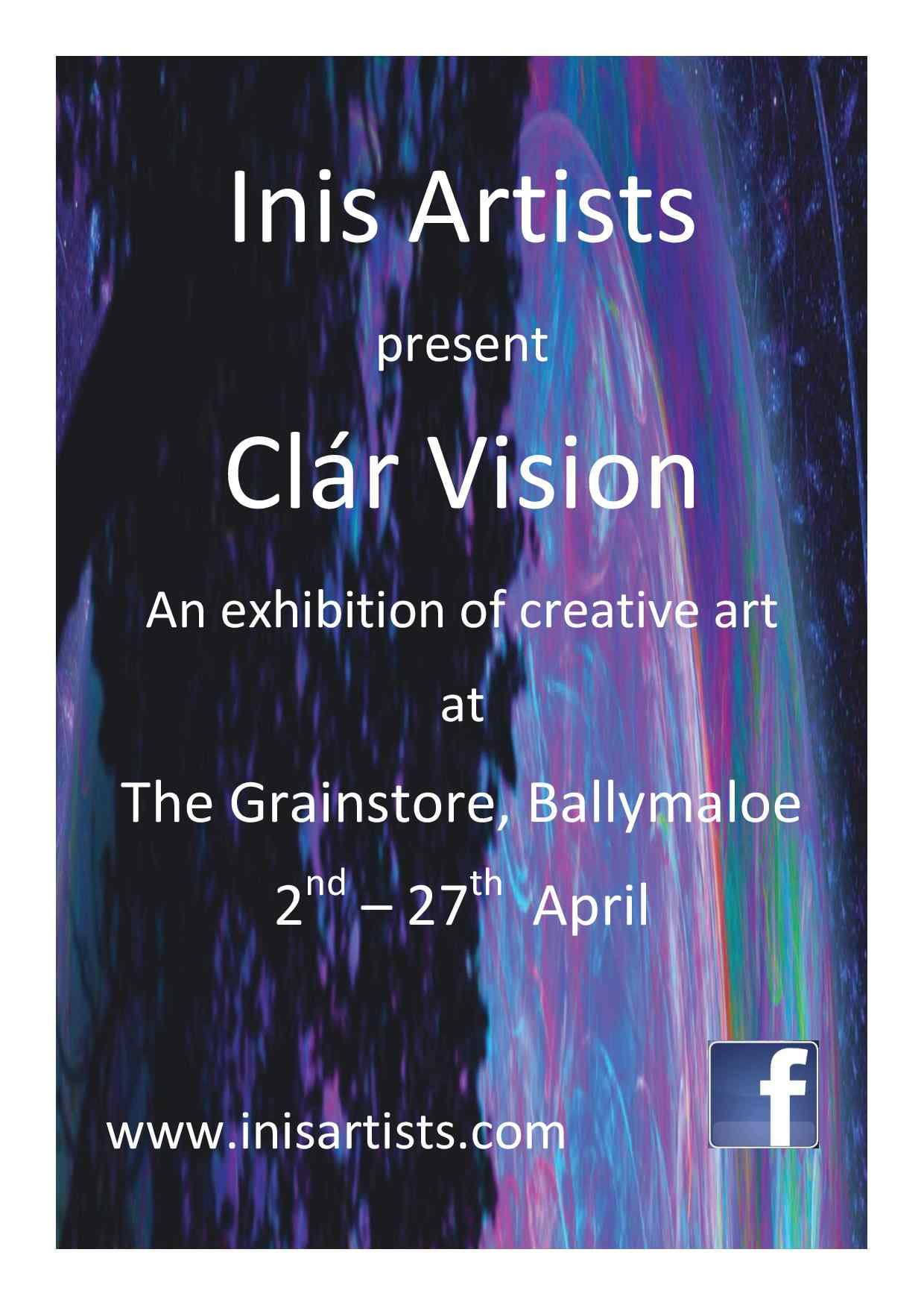 Inis Artists - Creative Art Exhibition at Ballymaloe Grainstore