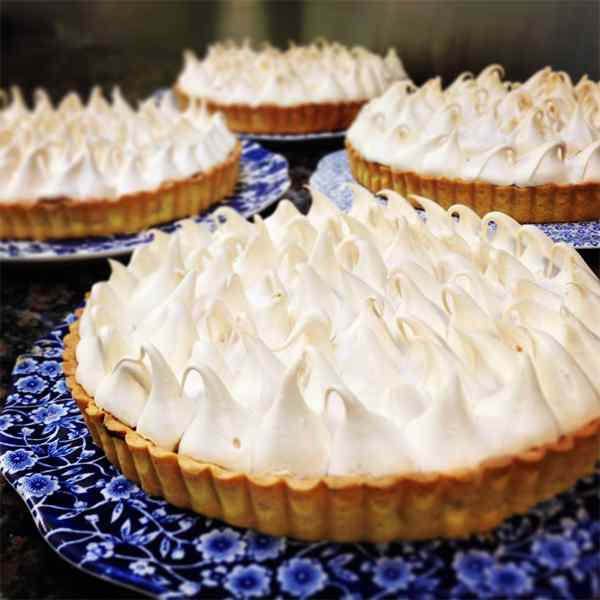 Ballymaloe Lemon Meringue Pie