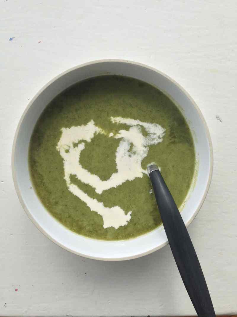 Wild Garlic & Potato Soup