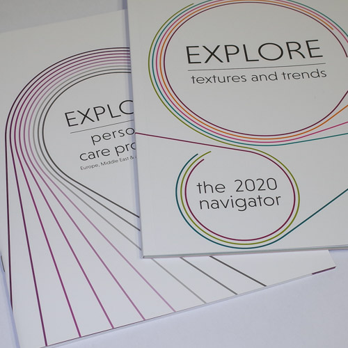 Perfect bound and saddle stitched brochures