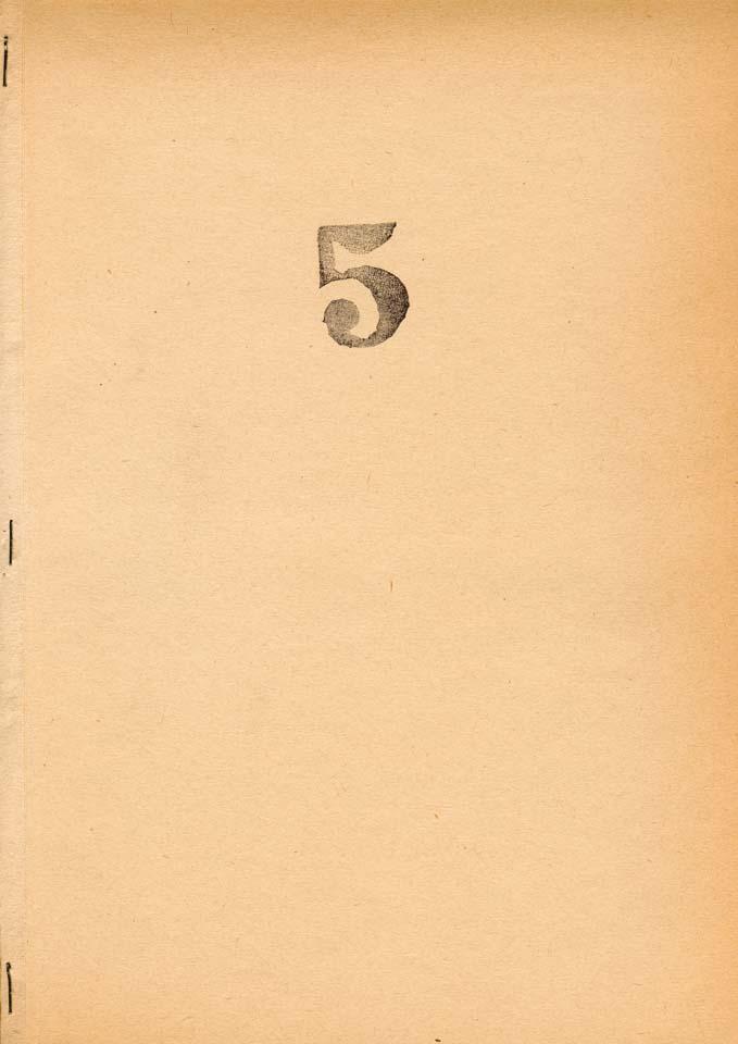 Five Books, no. 5