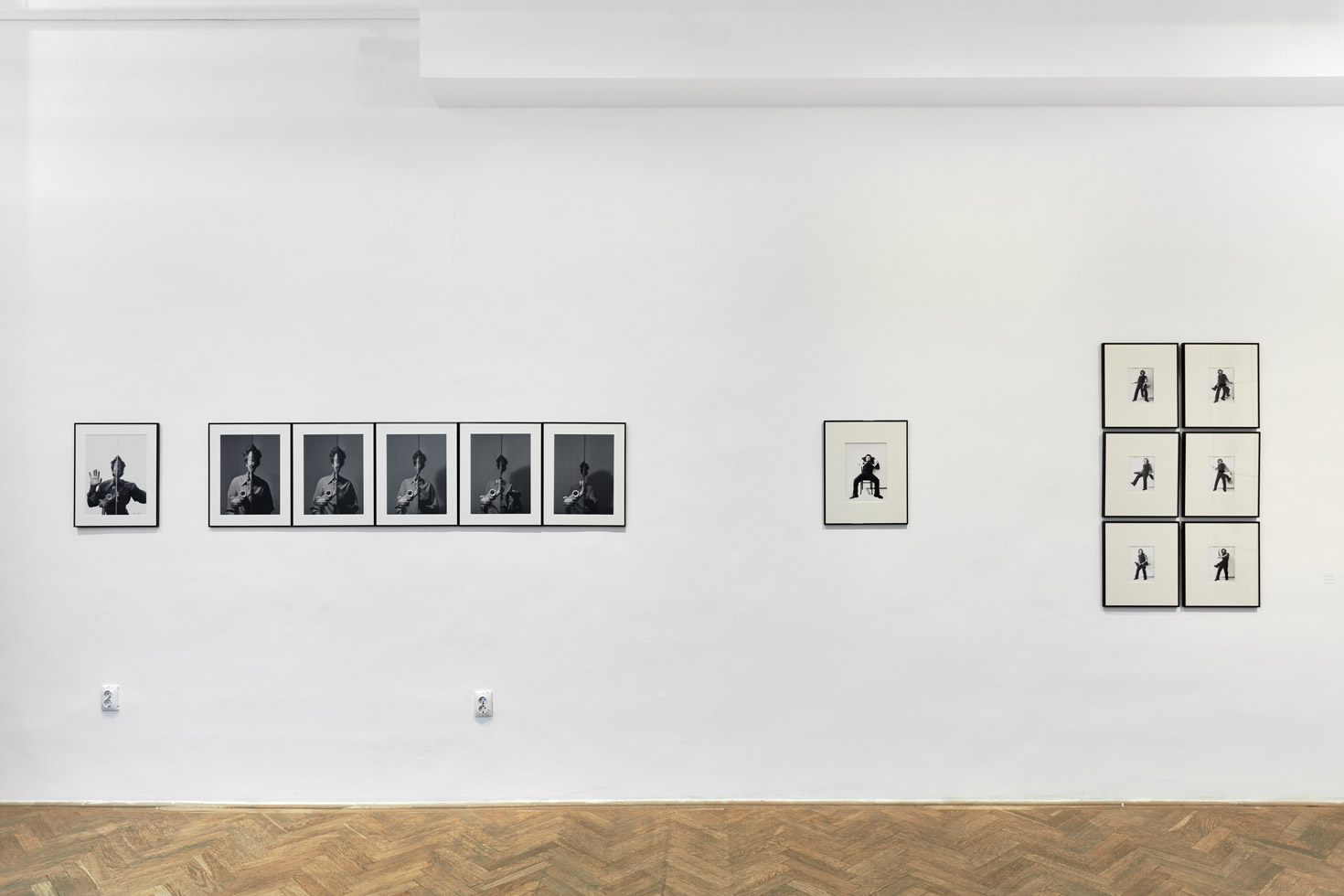 Géza Perneczky, Mirrors Exhibition at Robert Capa Center, Budapest
