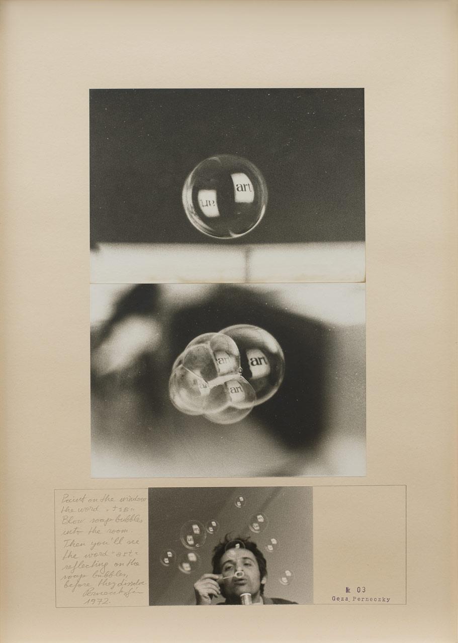 Géza Perneczky Art Bubbles MOCAK Krakow collection