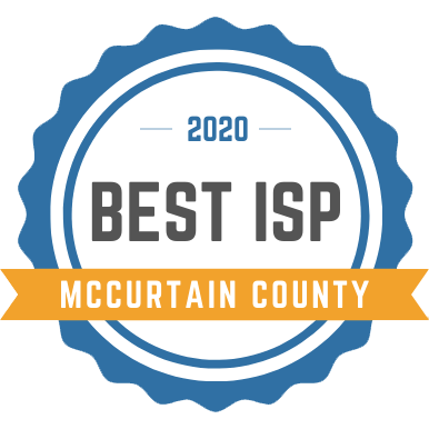 best internet service provider in mccurtain county award