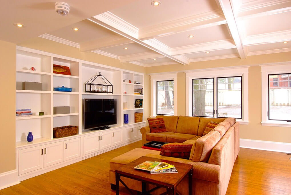 Design & Build Project: Benson Beauty - Living Room With Built-In Entertainment Unit