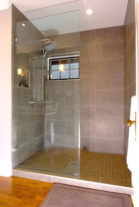 Design & Build Project: Benson Beauty - Bathroom Walk-In Shower