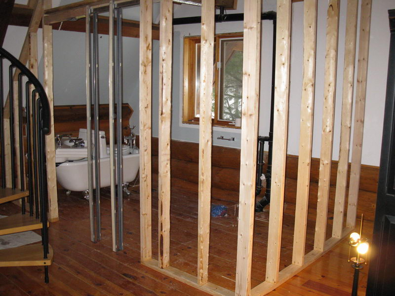 Design & Renovate Project: Scandinavian Log Home - Framing New Walls