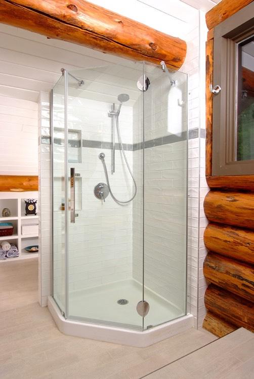 Design & Renovate Project: Buckhorn Beach Bathroom - Shower
