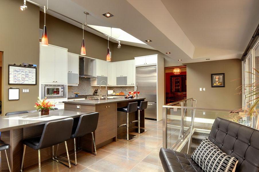 Ridgewood Ultra Modern Kitchen Design & Renovate Project