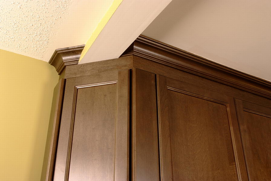 Design & Renovate Project: Westbrook Custom Kitchen - Cabinets and Ceiling Intersecting