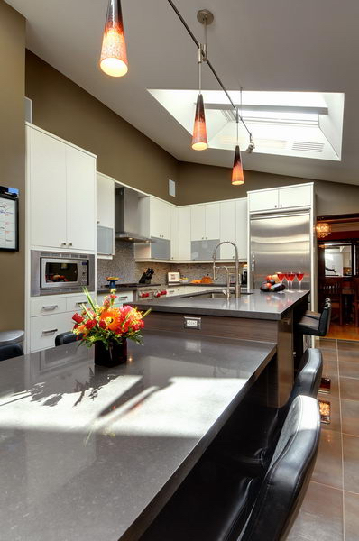 Design & Renovate Project: Ridgewood Ultra Modern Kitchen - Custom Kitchen