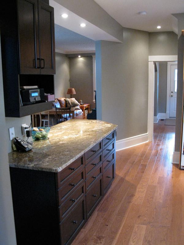 Design & Renovate Project: Main Floor Renovation - Kitchen Cabinets