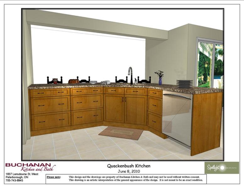 Kitchen Design & Renovate Project: Summit Custom Kitchen - Design Rendering