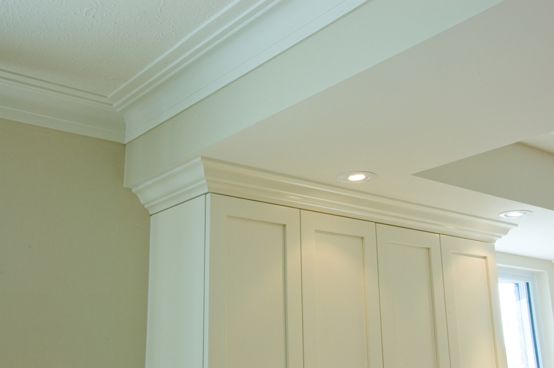 Design & Renovate Project: Albertus Custom Kitchen - Cabinets With Crown Molding