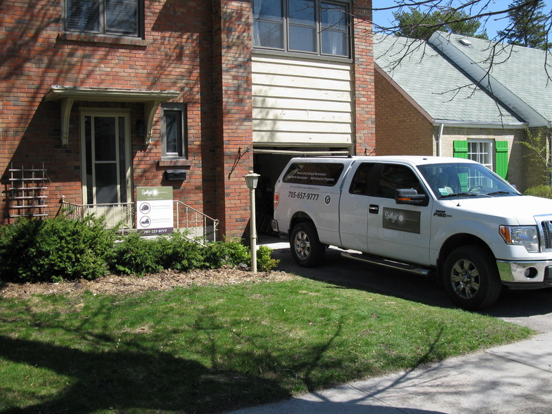 Design & Renovate Project: Albertus Custom Kitchen - Spotlight Home and Lifestyle Truck In Driveway