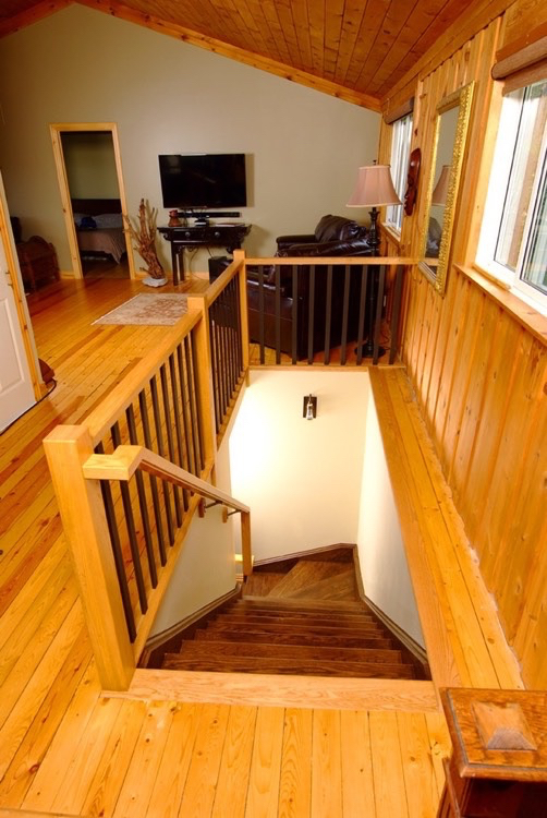 Design & Renovate Project: Basement Beauty Renovation - Stairs To Basement