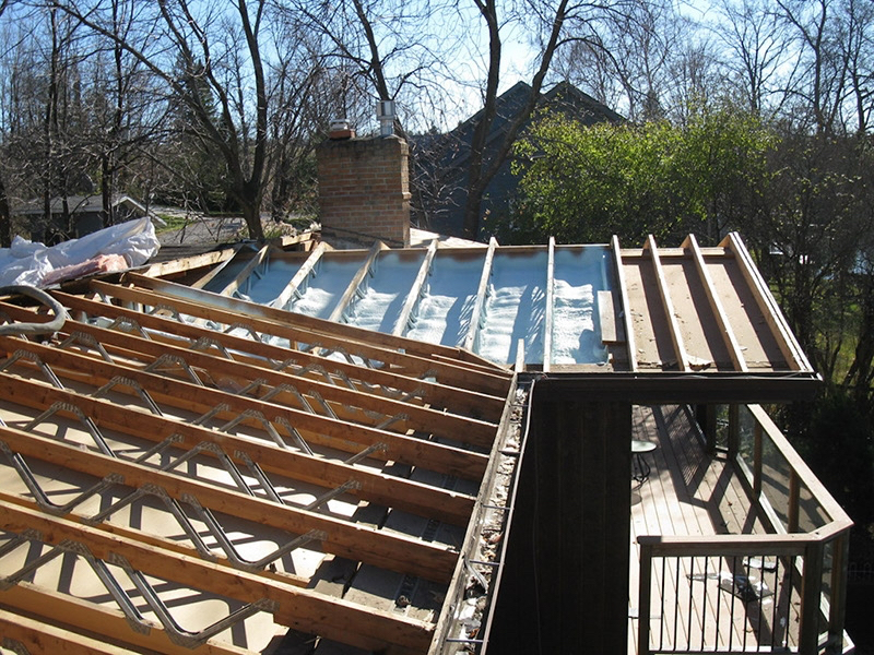 Design & Build Project: Chemong Lake - Roof Construction