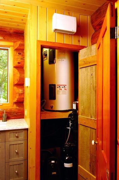 Design & Renovate Project: Scandinavian Log Home - Utility Room