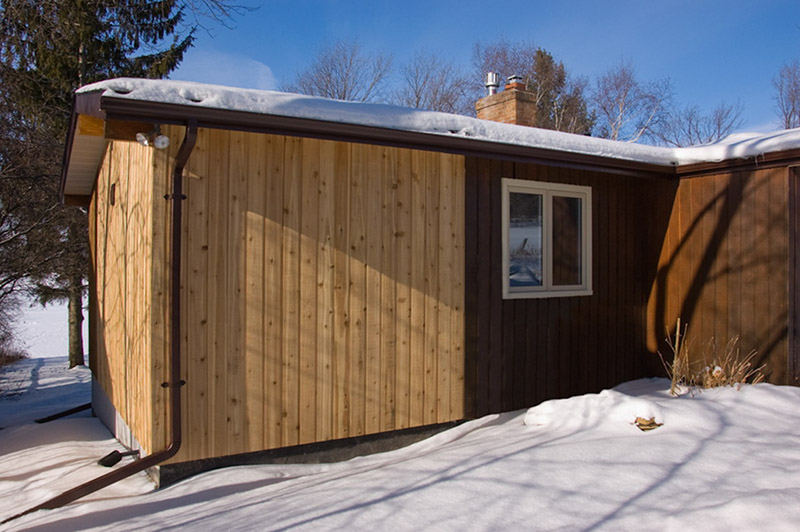Design & Build Project: Chemong Lake - Exterior Addition