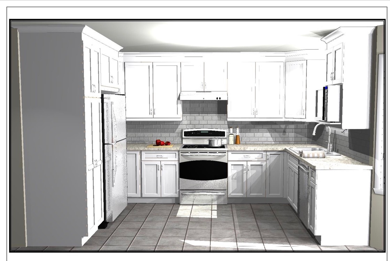 Design & Renovate Project: Dalhaven Custom Kitchen - Design Rendering