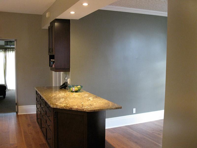 Design & Renovate Project: Main Floor Renovation - Kitchen Counter Ledge