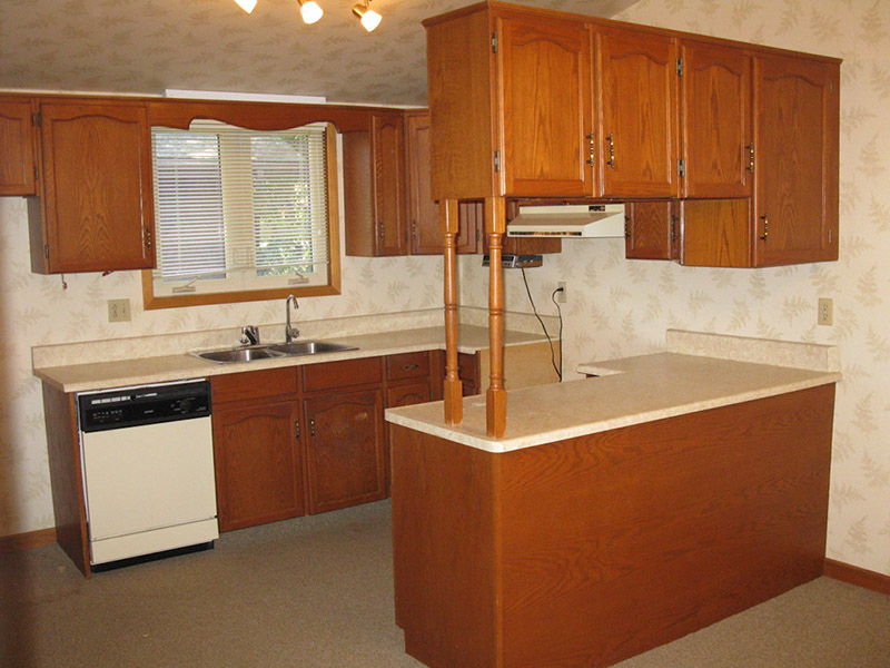 Design & Build Project: Chemong Lake - Old Kitchen Pre-Construction
