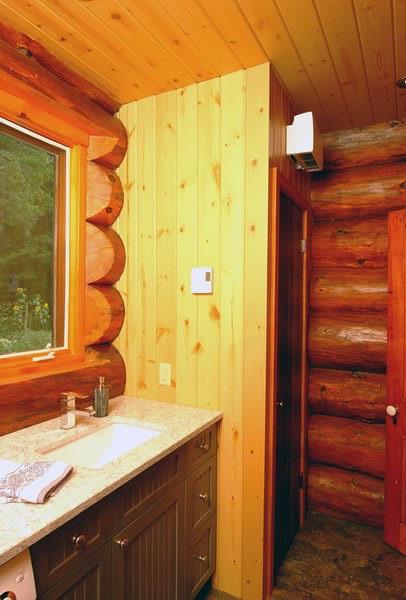 Design & Renovate Project: Scandinavian Log Home - Bathroom Sink