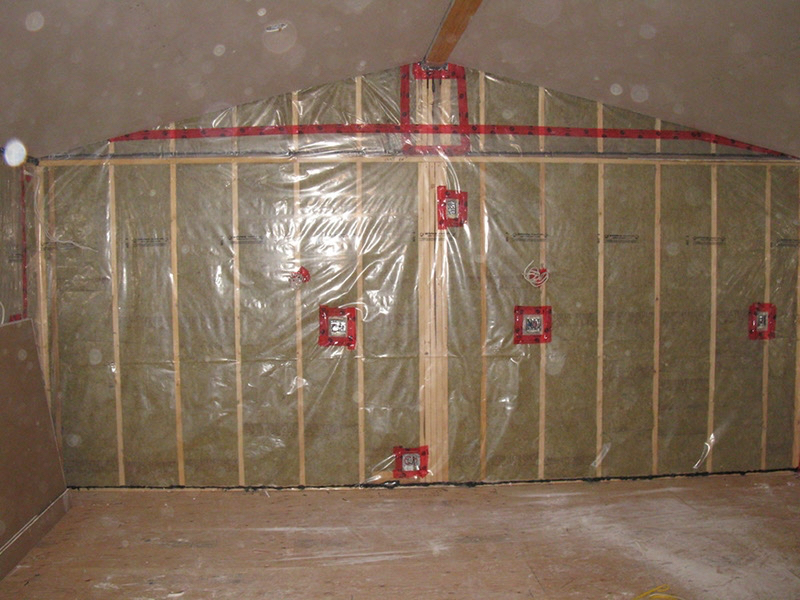 Design & Build Project: Chemong Lake - Stud Wall With Insulation