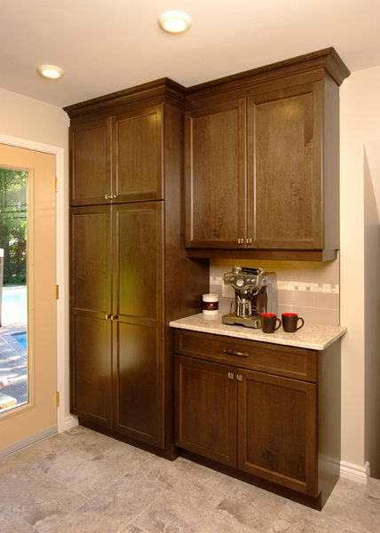 Design & Renovate Project: Westbrook Custom Kitchen - Dark Kitchen Cabinets