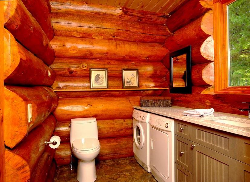 Design & Renovate Project: Scandinavian Log Home - Bathroom