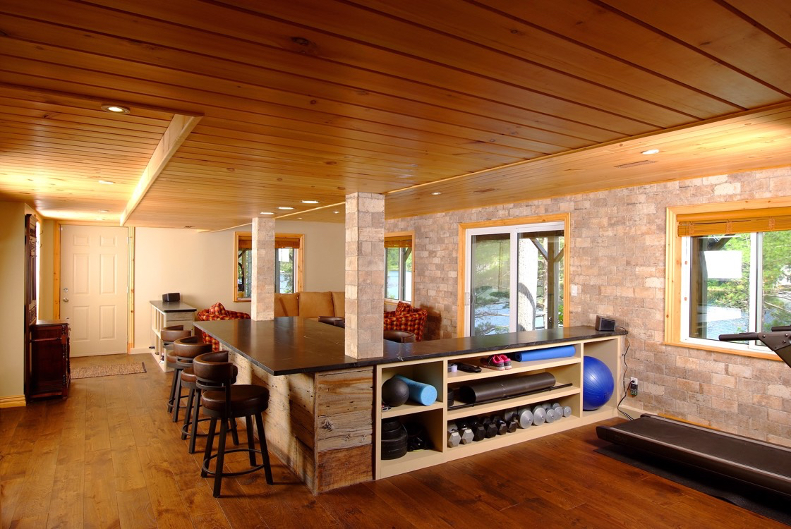 Basement Design and Renovation services, Peterborough County