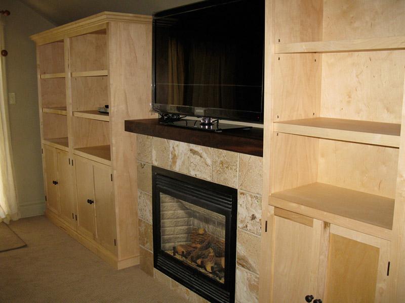 Design & Renovate Project: Main Floor Renovation - Built In Entertainment Unit