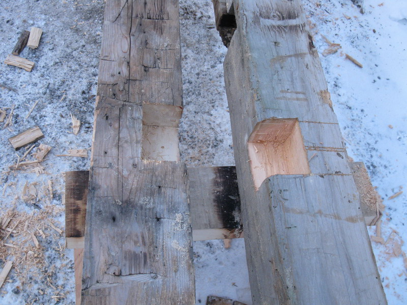 Design & Renovate Project: Mississagua Lake - Old Timbers For Construction
