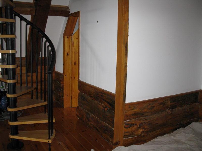 Design & Renovate Project: Scandinavian Log Home - Spiral Staircase