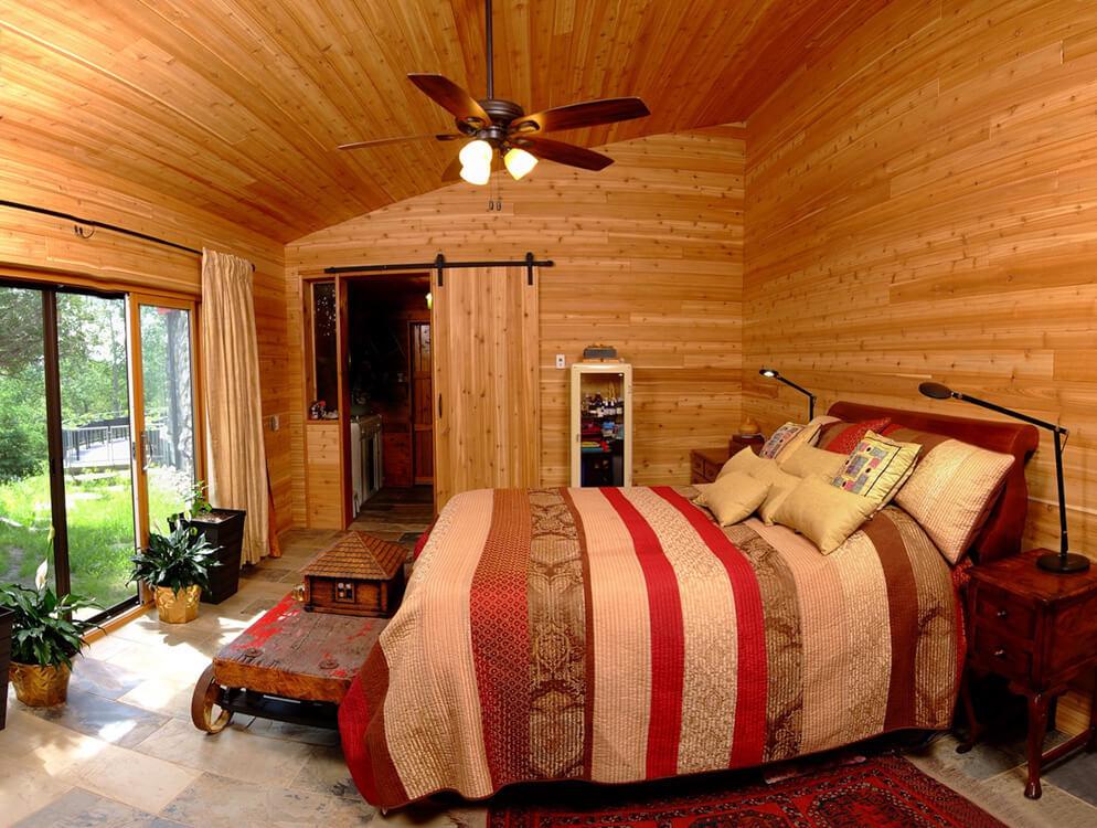 Design & Build Project: Pontypool Possibilities - Bedroom With Ceiling Fan