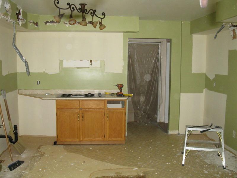 Kitchen Design & Renovate Project: Summit Custom Kitchen - Demolition