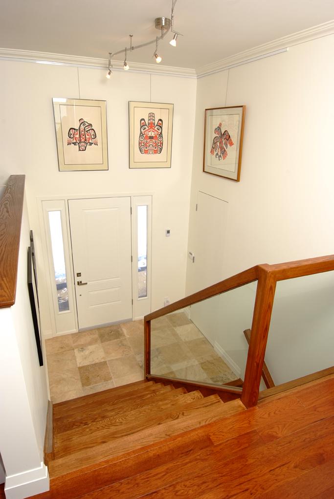 The Studio House Basement Stairs