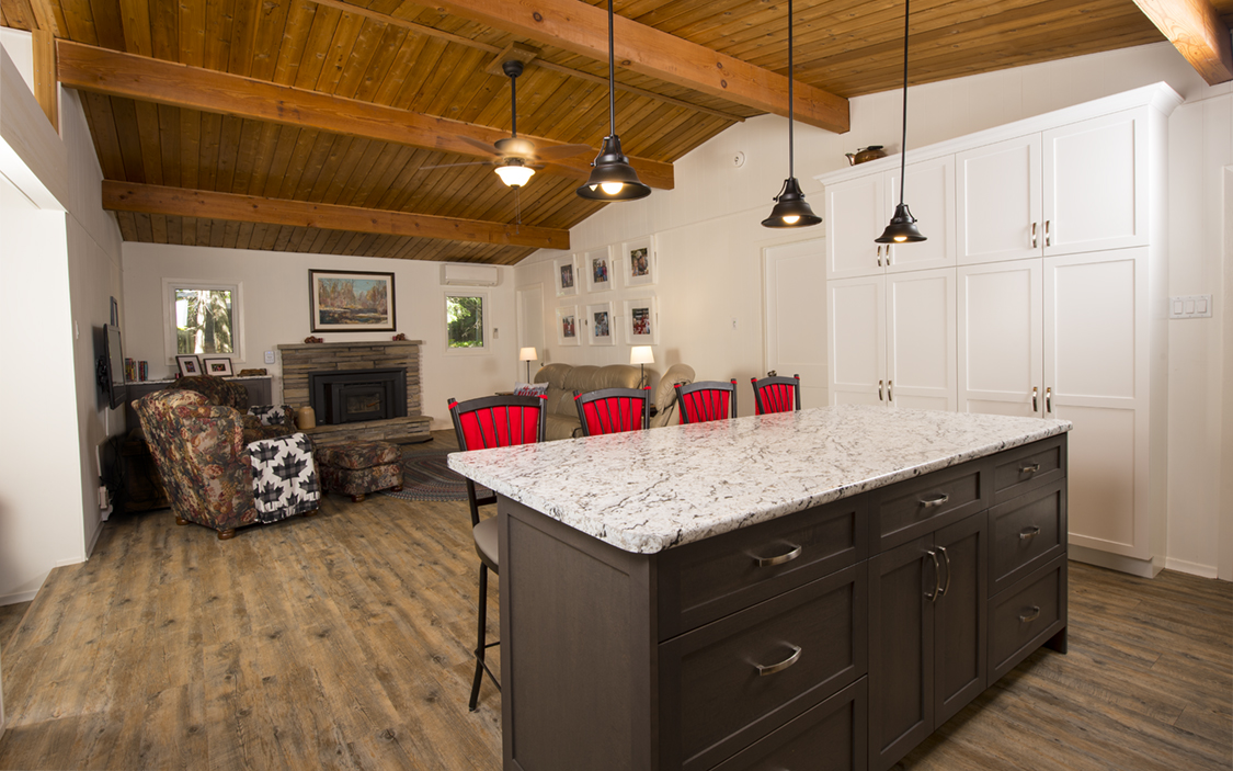 Design and renovate project - The Revival  - Kitchen Island