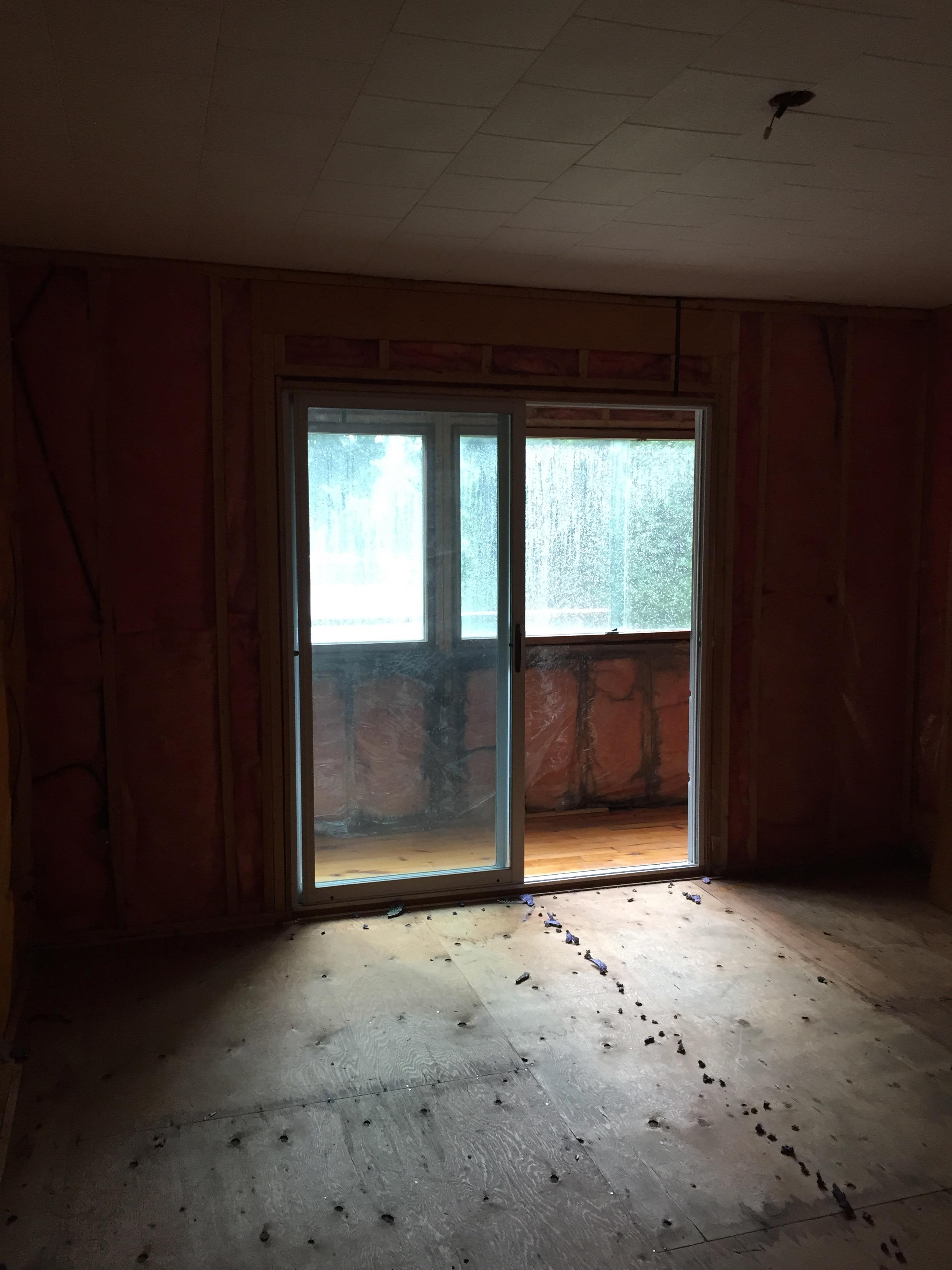 Design & Renovate Project: The Conversion - Sliding Doors