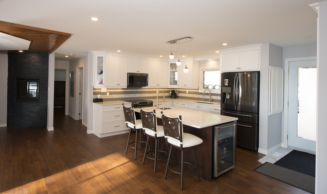 Design & Renovate Project: The Conversion -Kitchen With Island
