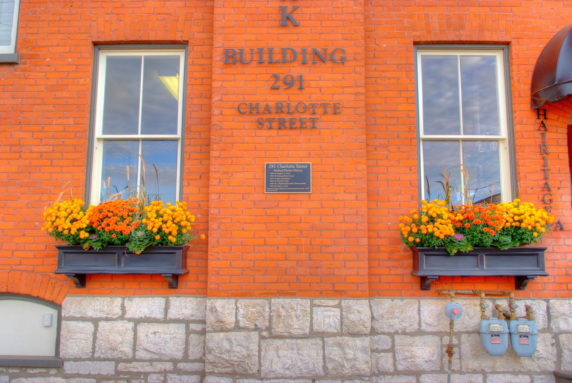 Design & Build Project: The Clark Building - Exterior Building Signage