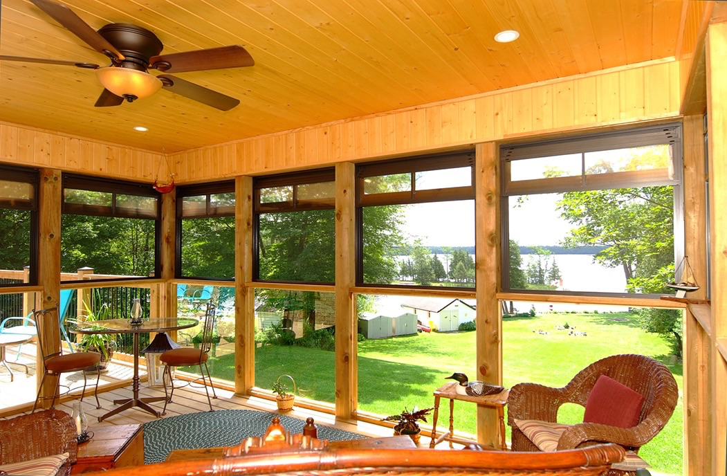 Screened-In Porch Design and Renovation services, Peterborough County