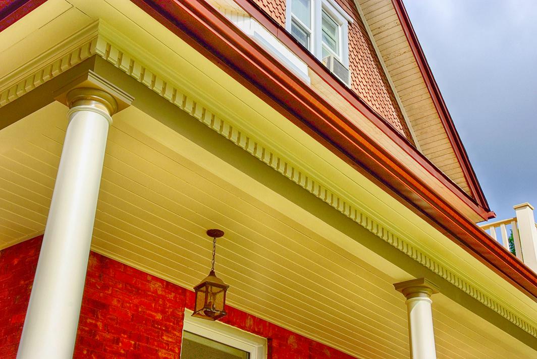 Design & Build Project: Historical Restoration - Exterior Font Porch Pillars