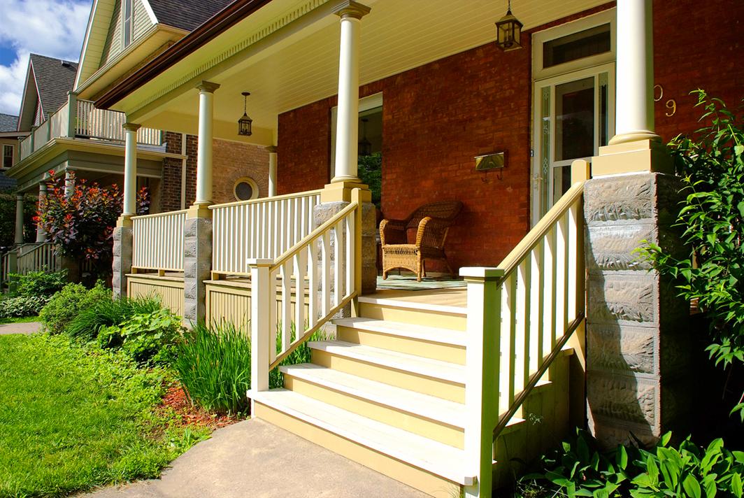 Design & Build Project: Historical Restoration - Exterior Font Porch Steps