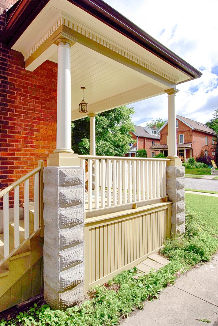 Design & Build Project: Historical Restoration - Exterior Font Porch Details